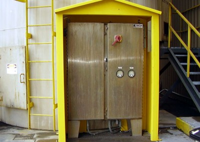 Carbon Silo Cabinet Enclosure